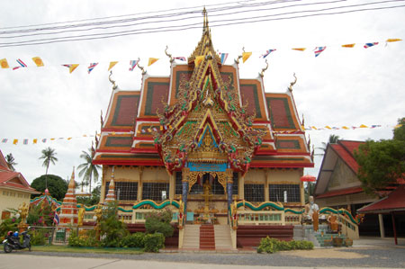 Temple on Koh Samui